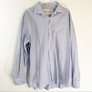 Michael Kors Long Sleeve Shirt in Blue